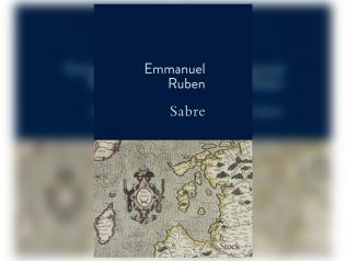 Emmanuel Ruben reçoit le Prix des Deux Magots 2021 pour Sabre