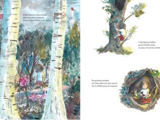 La forêt entre les deux de Mélanie Rutten