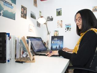 Morgane Saysana, traductrice littéraire