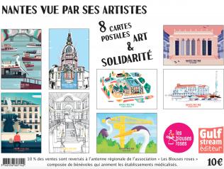 """""""Nantes vue par ses artistes"""", un projet solidaire et artistique de Gulf Stream Éditeur"""