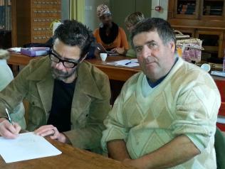 Julien Bosc et Robert
