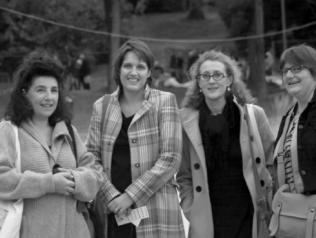 L'équipe de 68 premières fois : Nicole Grundlinger, Charlotte Milandri, Eglantine Paguymayard, Sabine Faulmeyer