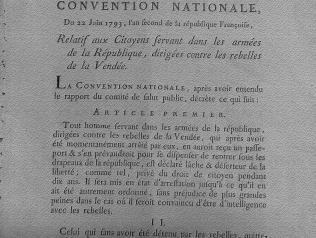 Fonds Histoire des révolutions de l'Ouest (Contre-révolution)