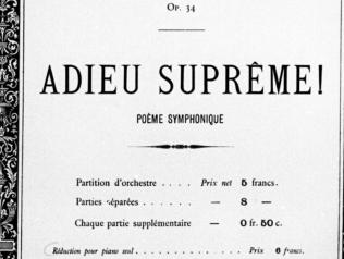 Fonds musicaux Jules Bordier