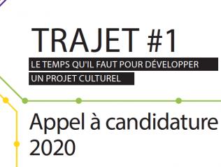 TRAJET #1 - Dispositif d'accompagnement des porteur.euse.s de projets artistiques et culturels en Pays de la Loire