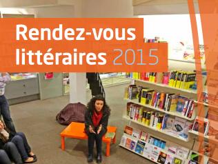 Rendez-vous littéraires en Pays de la Loire - 2015