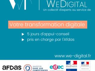 We Digital, pour accompagner votre transformation numérique