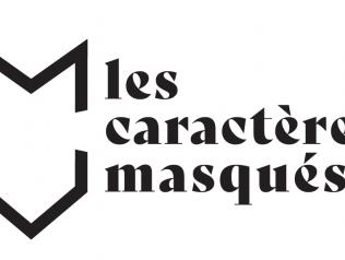 Les Caractères masqués - édition, librairie, bibliothèque, création